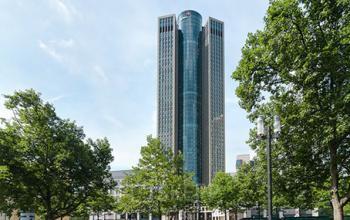 Beeindruckende Außenansicht des Büros in Frankfurt-Hauptbahnhof