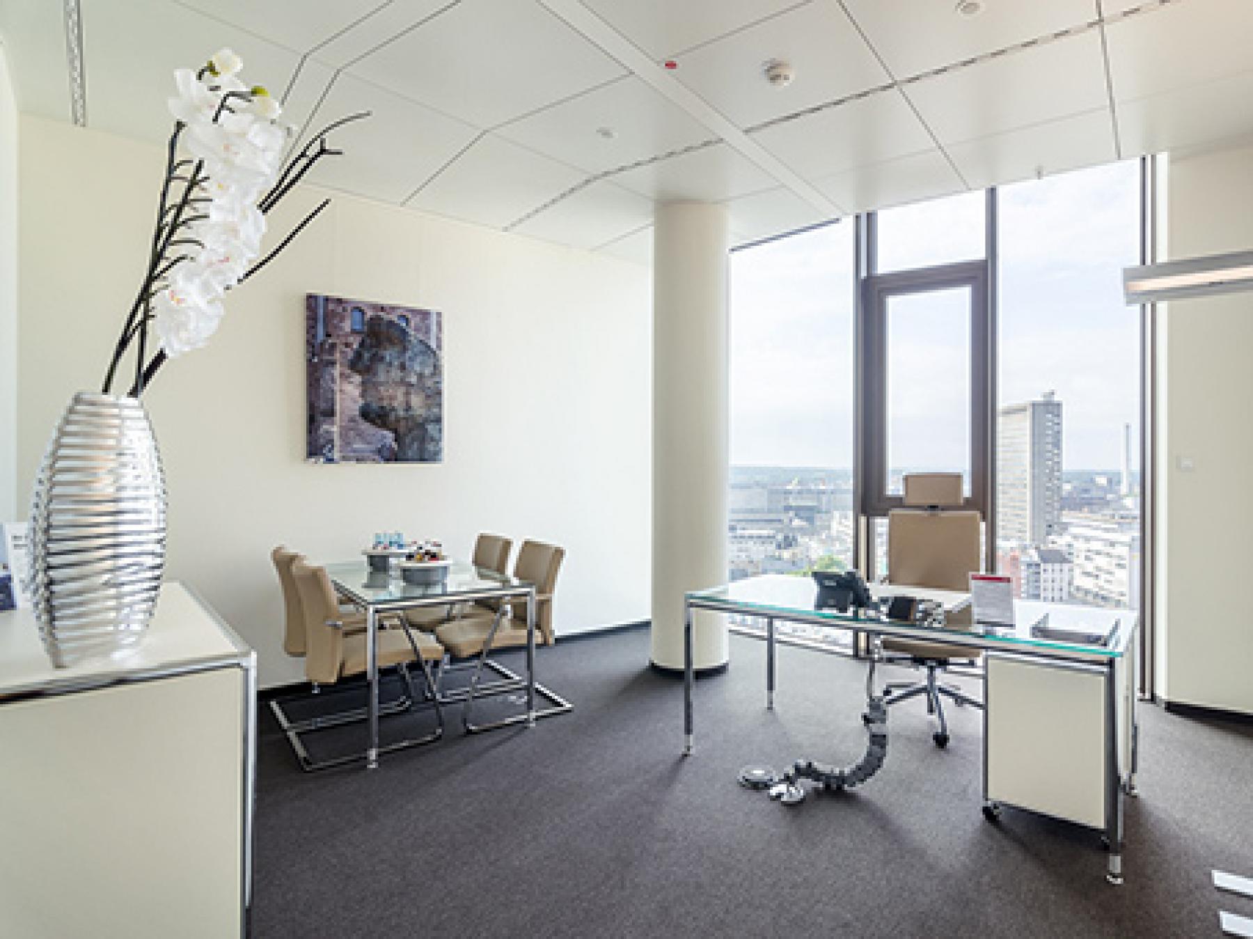 Modernes Büro mieten in Frankfurt-Hauptbahnhof an der Friedrich-Ebert-Anlage
