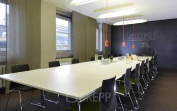 comfortable meeting room at the office in Frankfurt