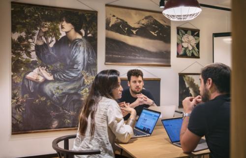 Büroräume mit Arbeitsplätzen mieten Frankfurt Innenstadt