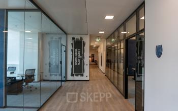 Geschmackvolle Büroeinrichtung in Frankfurt an der Mainzerstraße