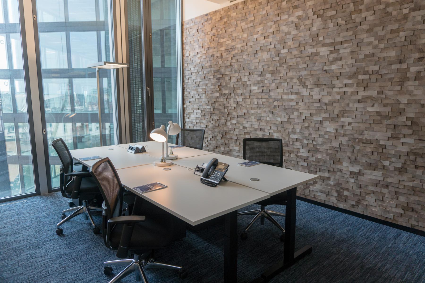 Modernes Büro mieten in Frankfurt Innenstadt