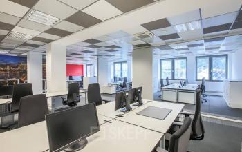 Kreative Arbeitsplätze zur Miete im Bürogebäude an der Belziger Straße in Frankfurt, Zeil
