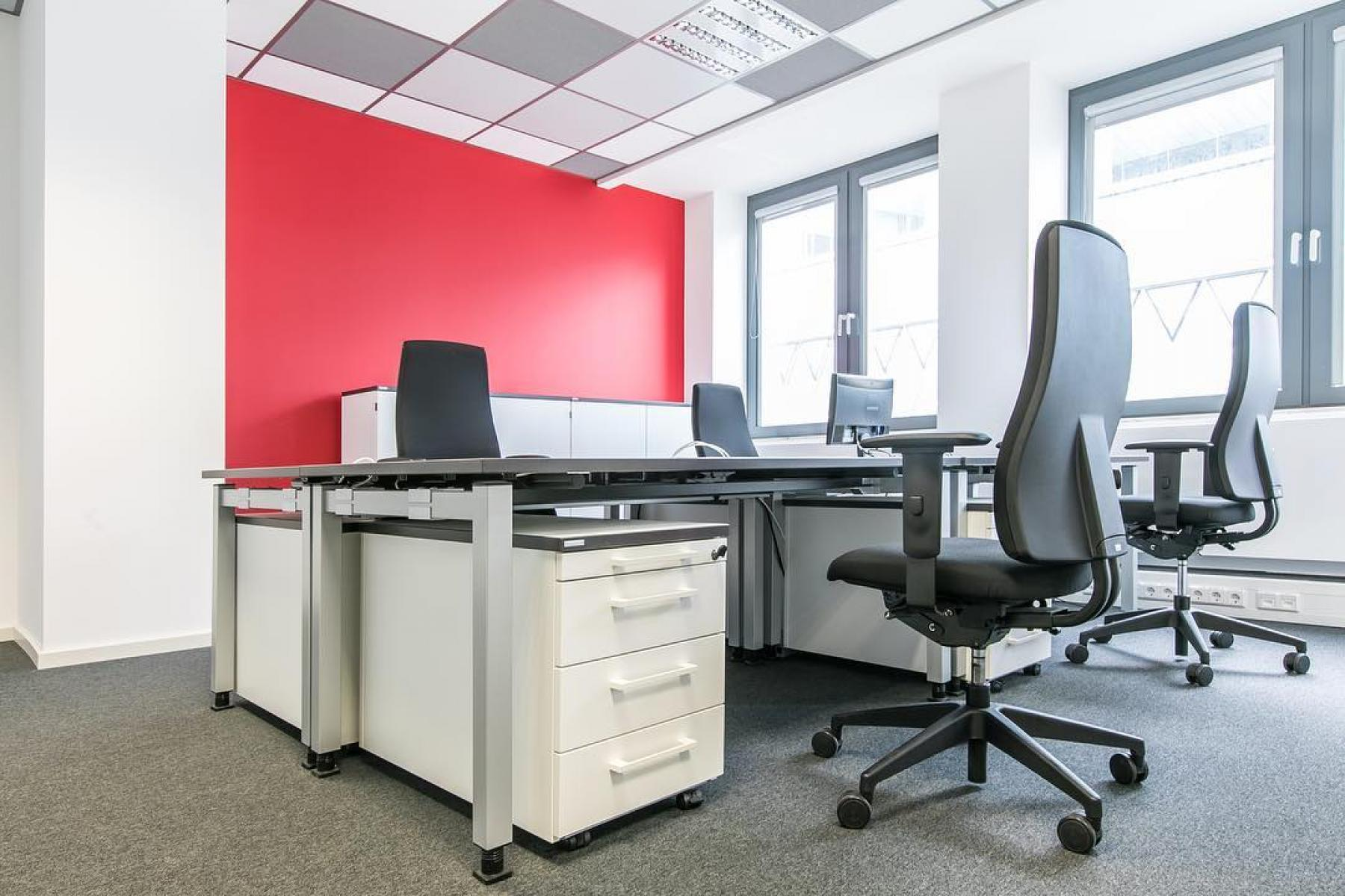 Modernes Büro mieten in Frankfurt