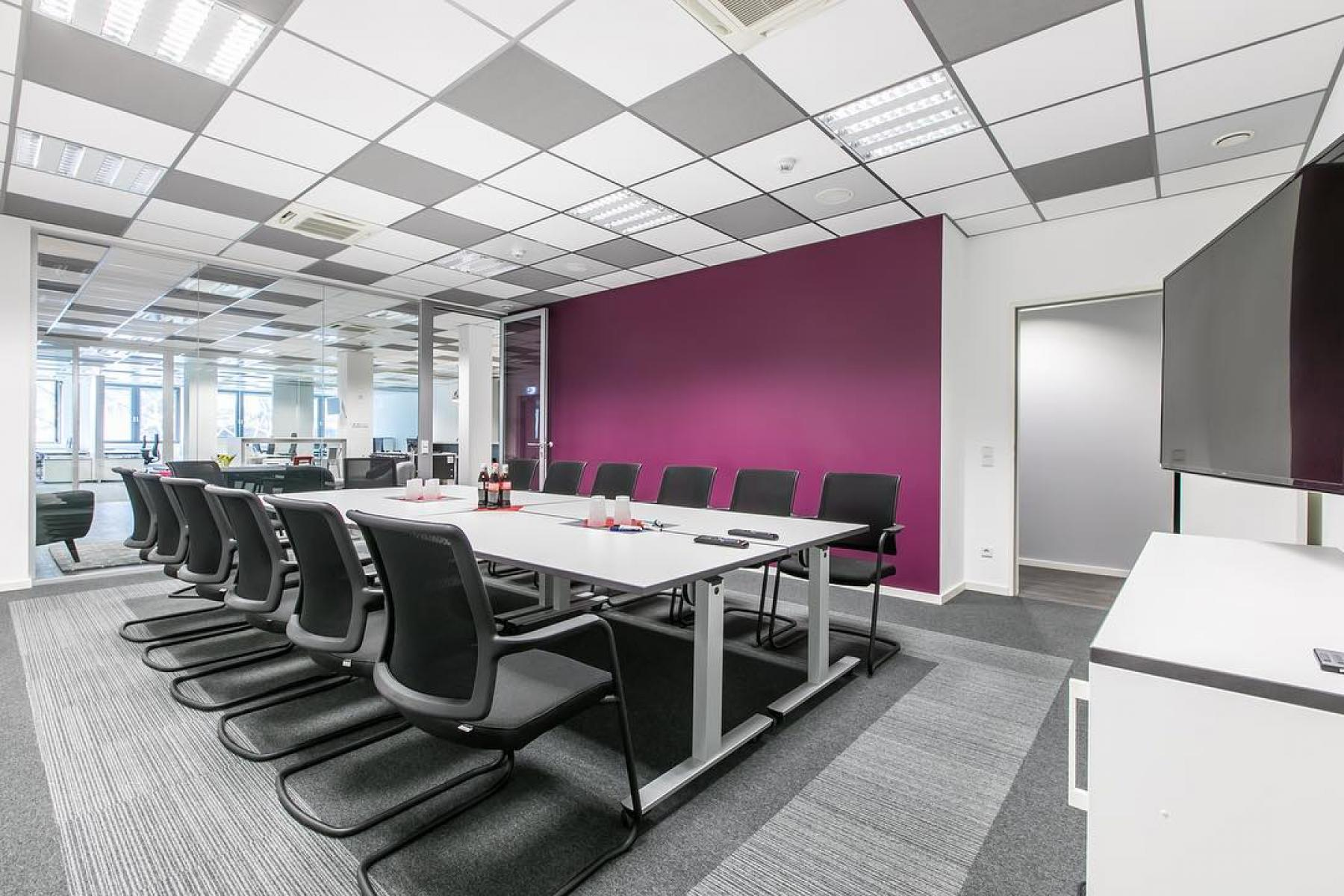 Stylish meeting room in the business center in Frankfurt, City Centre