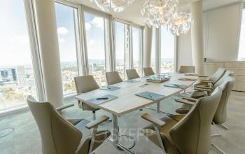 Tolle Konferenzräume im Bürogebäude in Frankfurt