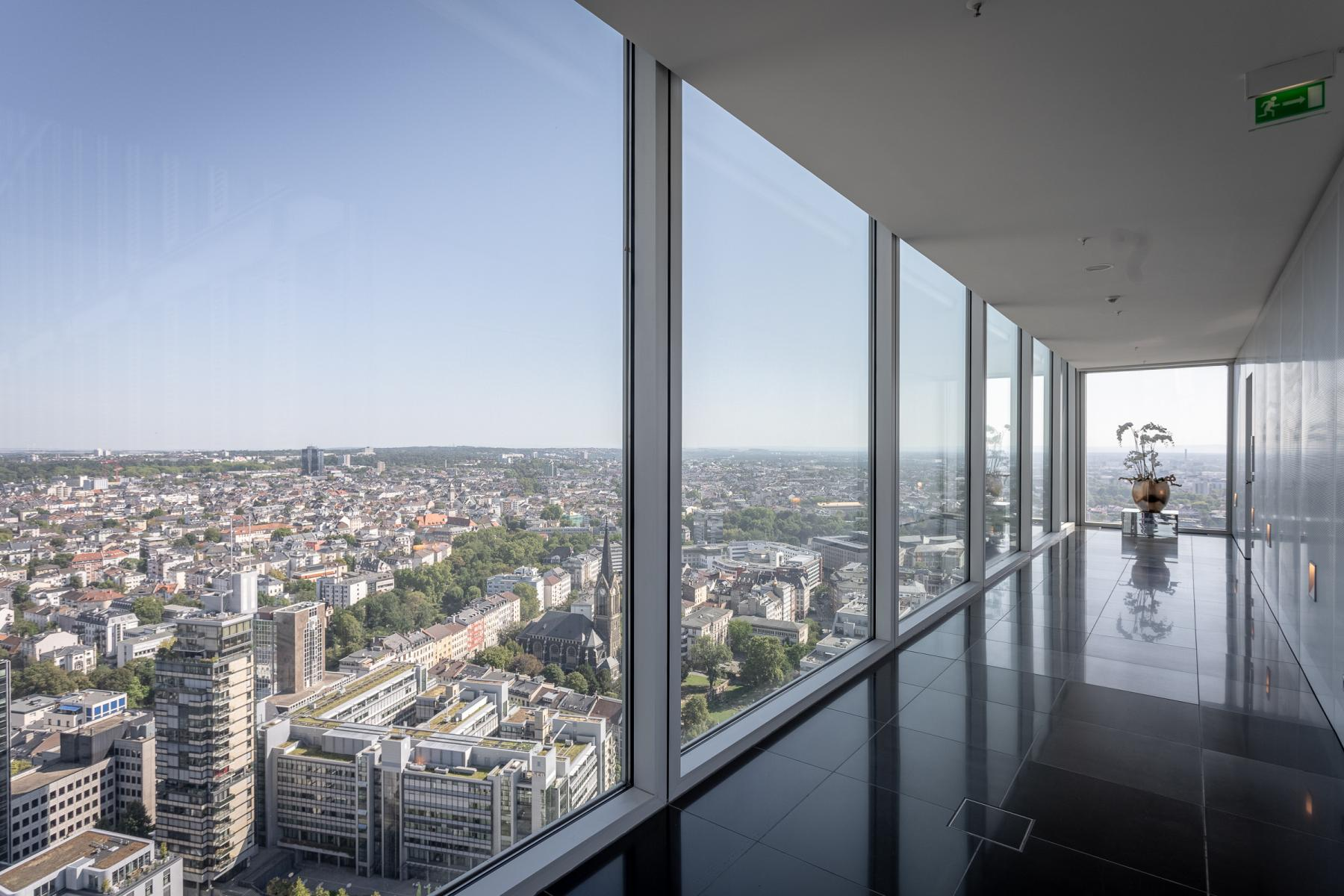 The view cannot get any better - rent your new office at Thurn-und-Taxis-Platz Frankfurt