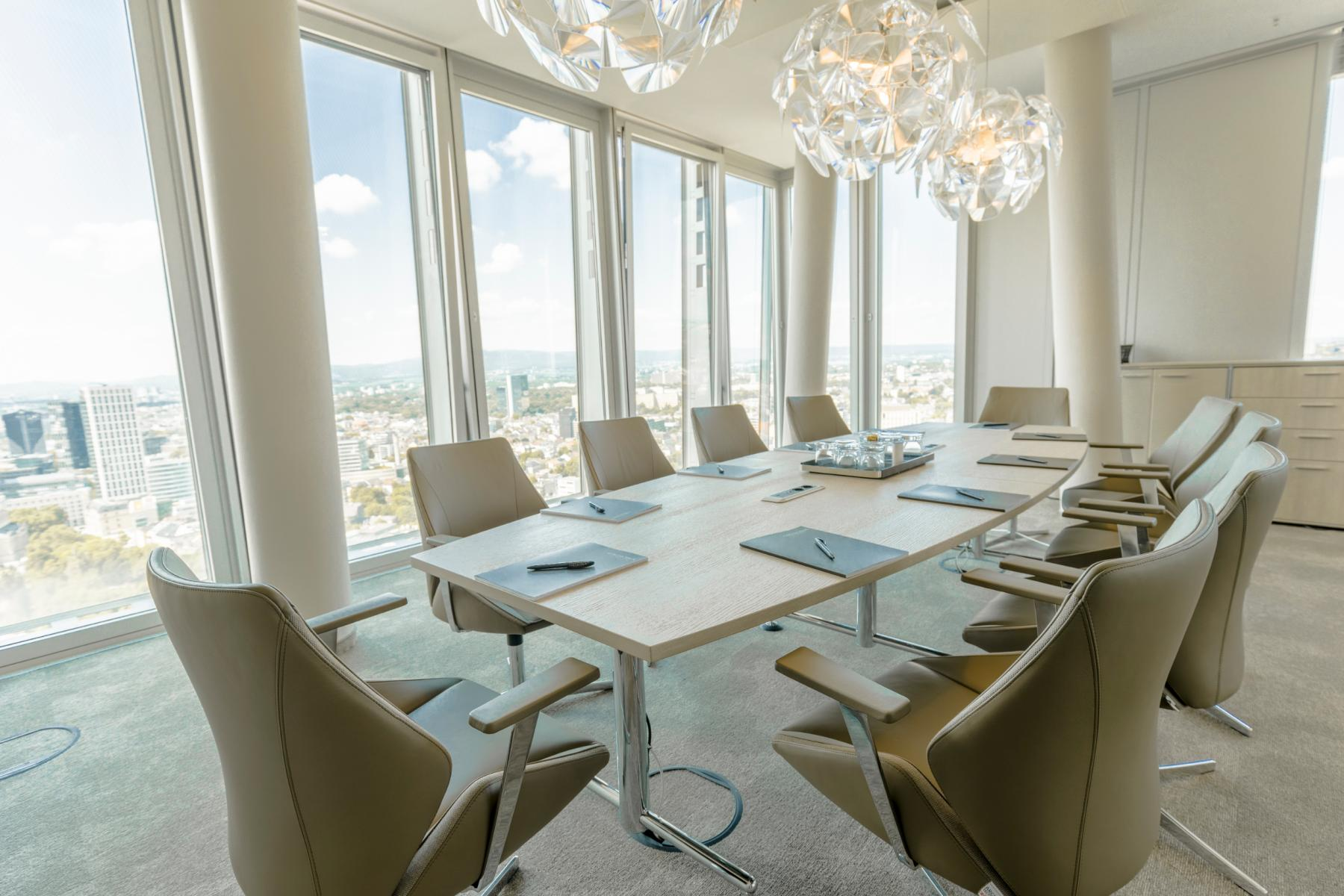Great conference rooms in the office building in Frankfurt