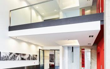 Ein Büroraum mieten in der stilvollen Büroimmobilie in Frankfurt Nord