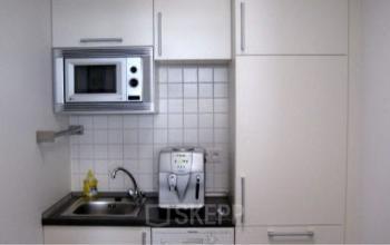 Business Center in Frankfurt mit voll ausgestatteter Küche
