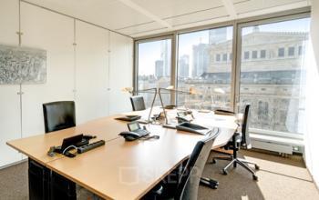 Hochmodernes Büro mieten in Frankfurt
