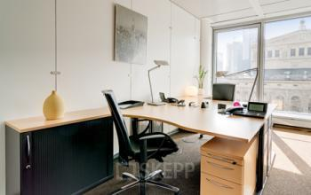 Elegantes Büro mieten an der Welle in Frankfurt