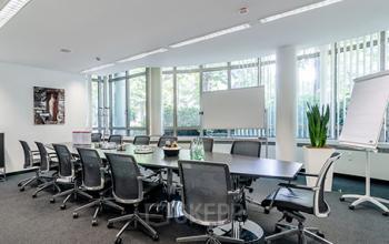 Großer Konferenzraum des Business Centers an der Bockenheimer Landstraße in Frankfurt