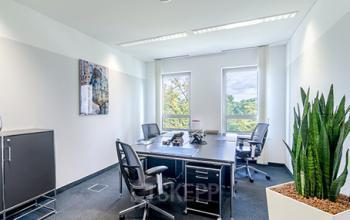 Modernes Büro mieten an der Bockenheimer Landstraße in Frankfurt