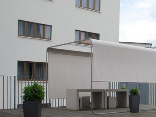 Erstklassige Dachterrasse der Büroräume in Frankfurt an der Friedrich-Ebert-Anlage