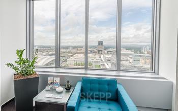 Wunderschöner Ausblick aus den Büros in Frankfurt-Westend