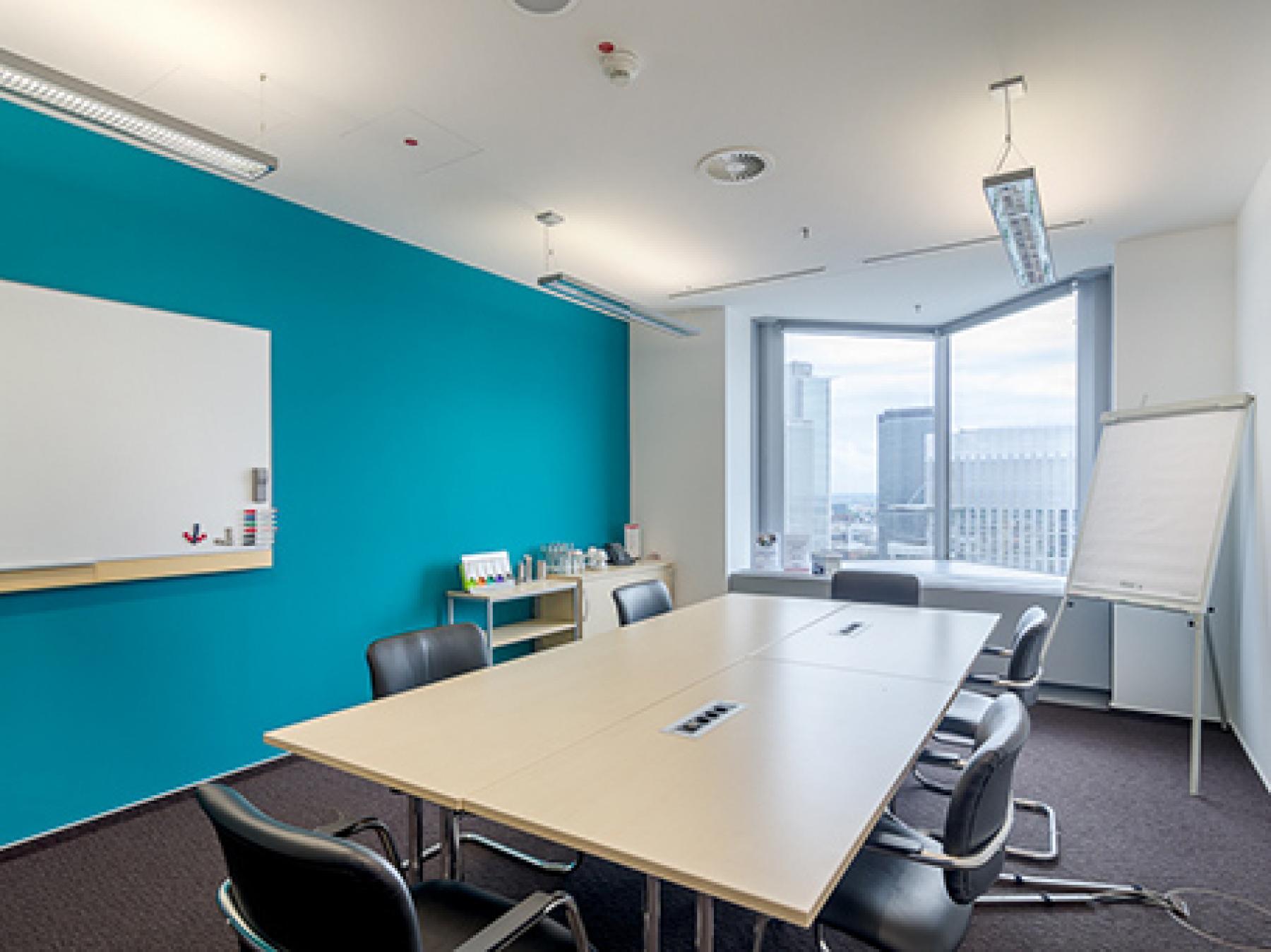 Modernen Konferenzraum mieten in Frankfurt-Westend
