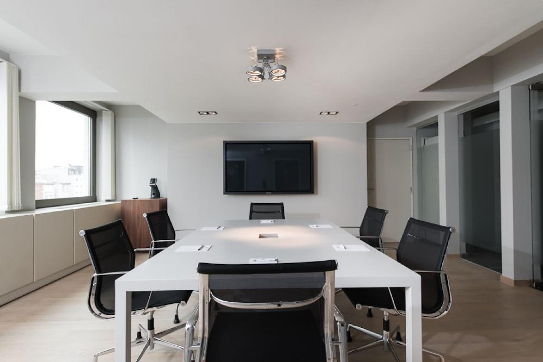 Luxe vergaderruimte