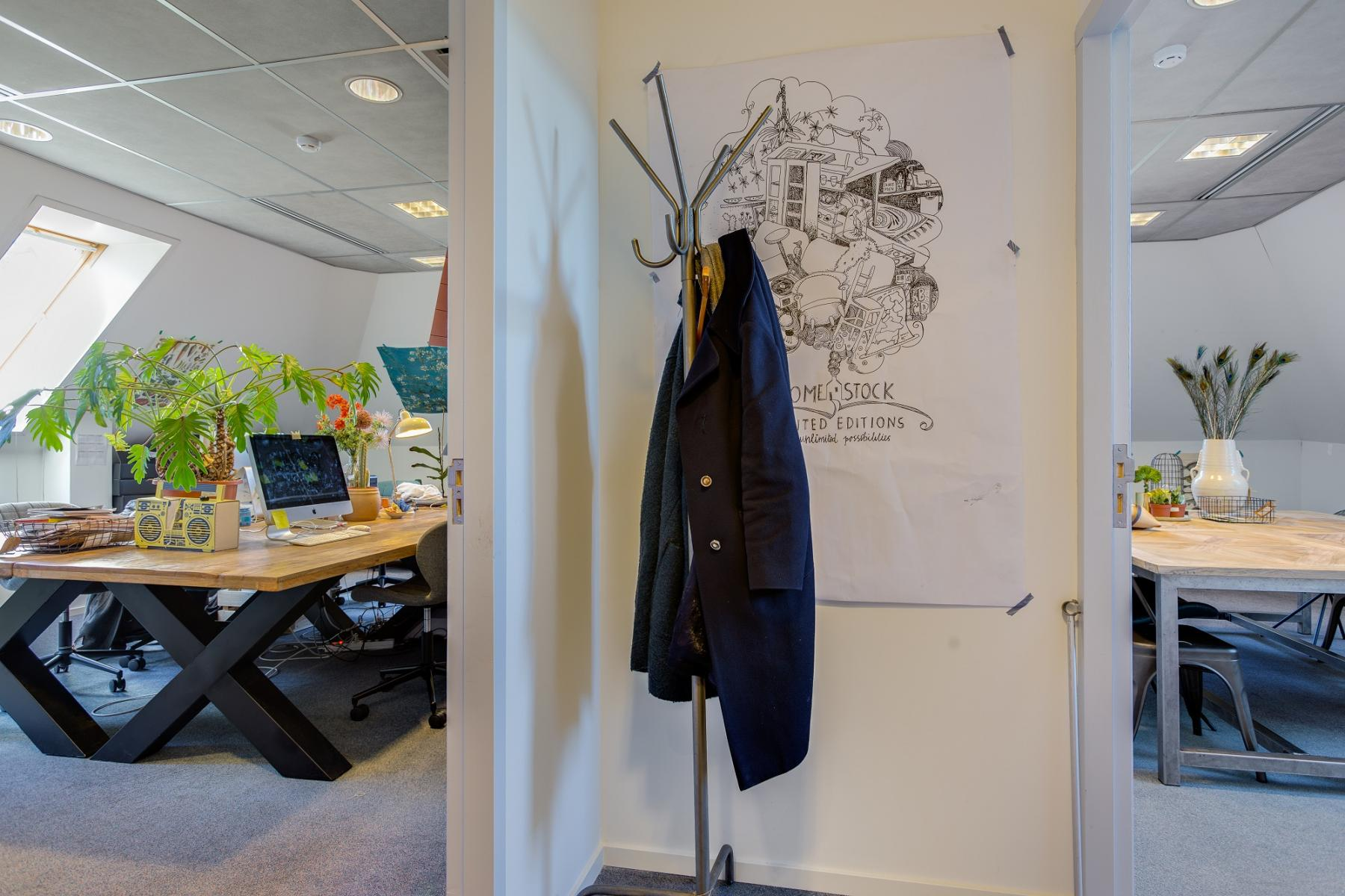 creative office space for rent in haarlem green plants