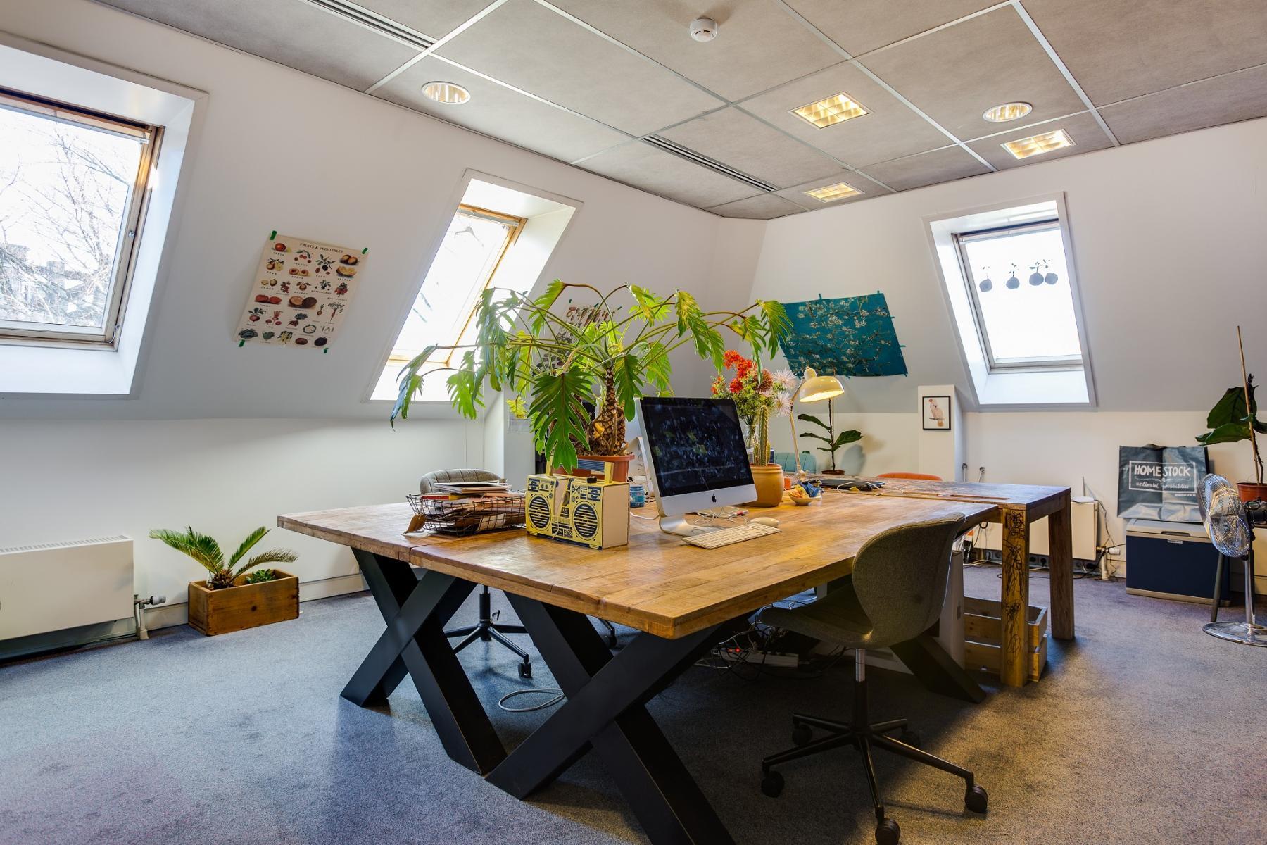 creative office room haarlem for rent windows