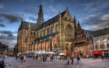 Kerkplein Haarlem kantoor