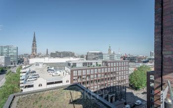 Ideale Umgebung am Arbeitsplatz Brandstwiete Hamburg