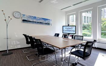 Großer Konferenzraum in der Immobilie in Hamburg-Altstadt