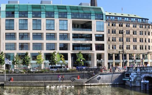 Beeindruckendes Bürogebäude in Hamburg Altstadt