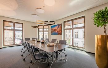 Bright meeting room in the Business Center in Hamburg