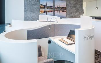 Moderne Business-Lounge in der Immobilie in Hamburg, Hamburger Straße