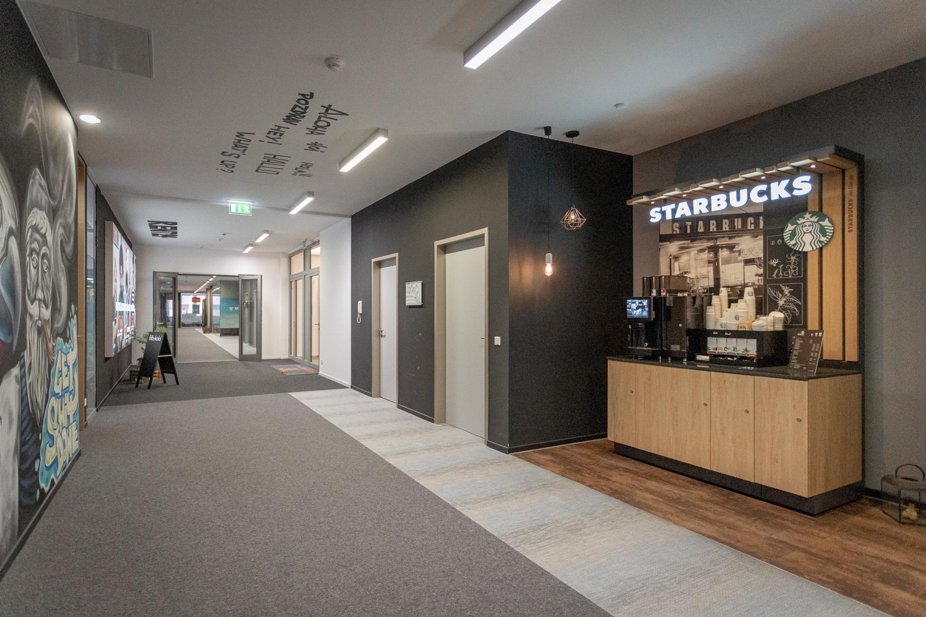 Kaffeeecke business center Hafencity