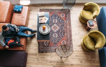 Gemütlicher Aufenthaltsbereich zum entspannen und relaxen