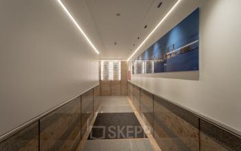 Besonderes Interiordesign im Bürogebäude im Herzen von Hamburg