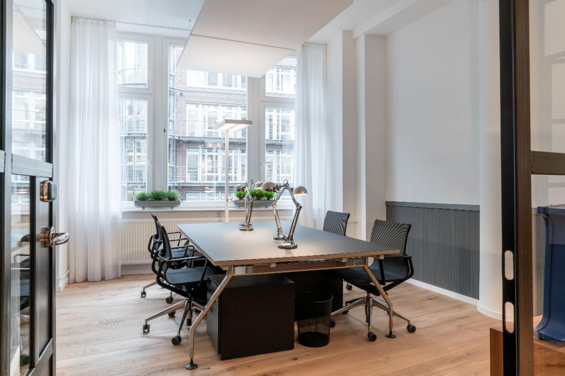 Hochwertiges Büro mieten in der Innenstadt von Hamburg
