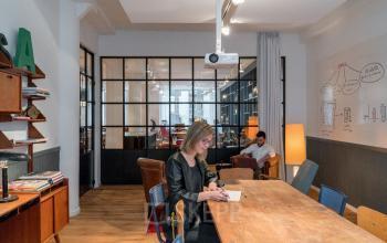Preiswerter Arbeitsplatz mieten im Coworking-Bereich in Hamburg-Neustadt