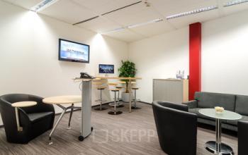Erstklassige Business Lounge in der Immobilie an der Stadthausbrücke in Hamburg