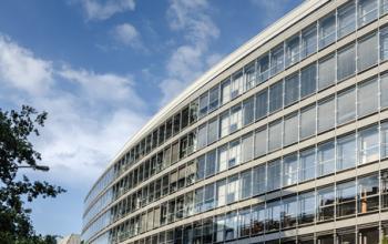Fantastische Außenansicht des Bürogebäudes in am Valentinskamp Hamburg Neustadt