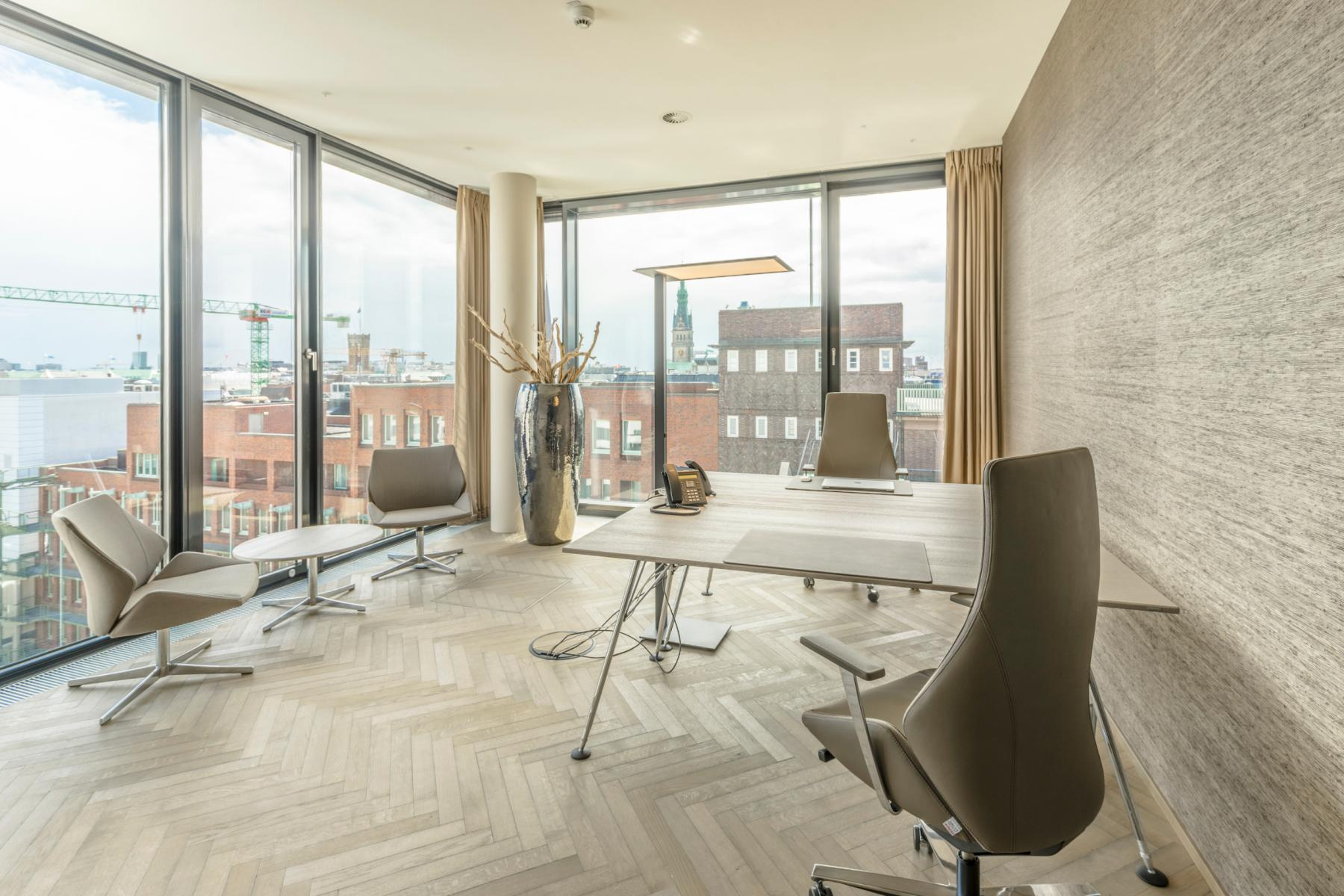 Rent an office in the Business Center in Hamburg