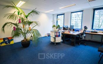 Well lit office space Hilversum