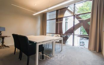 big office space with lot of glass