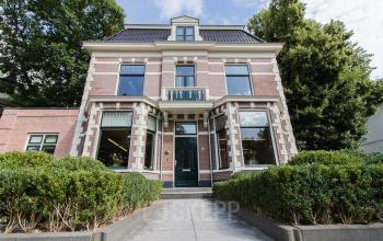 outside view office building koninginneweg