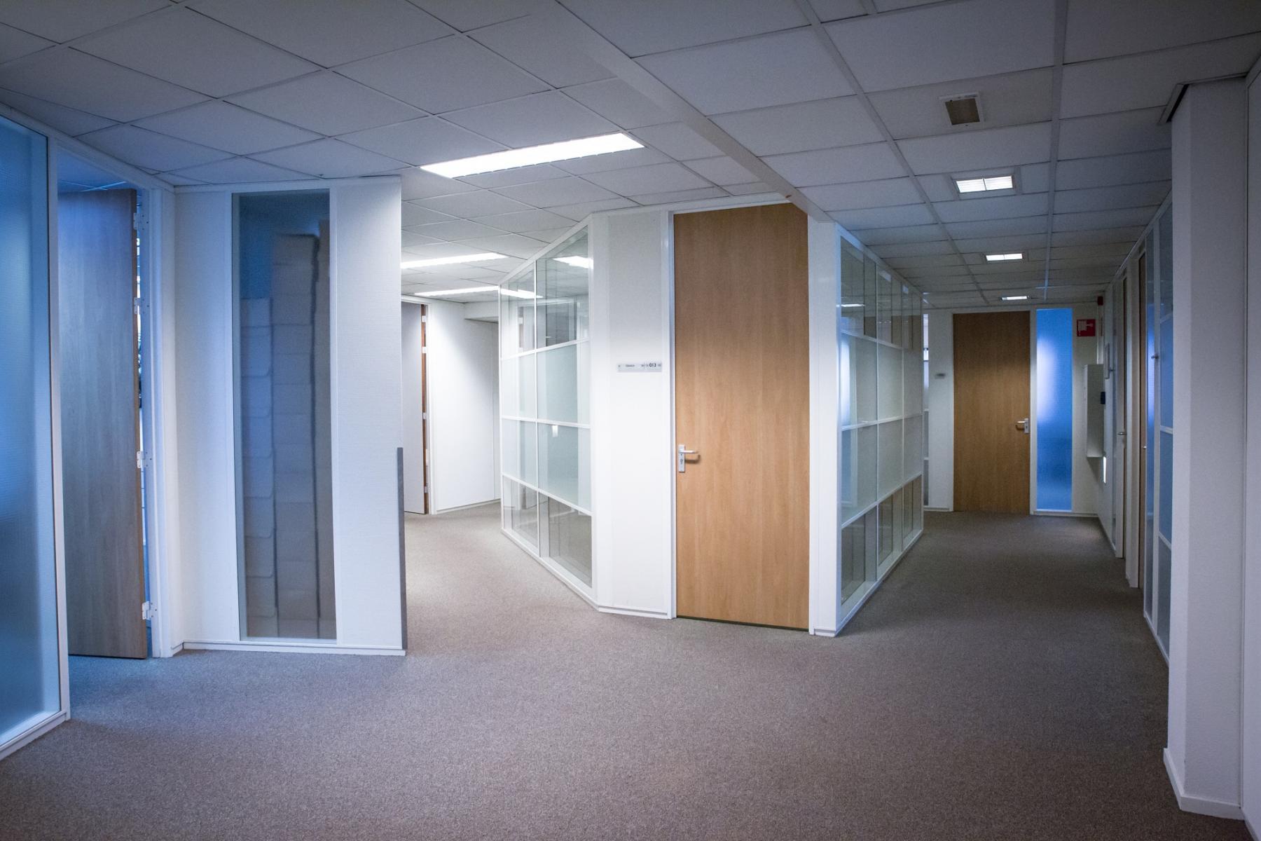 entrance hallway white frames doors wood