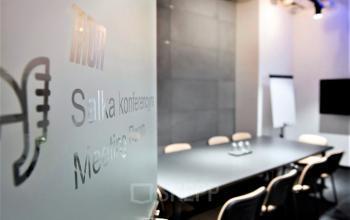 sala konferencyjna w budynku biurowym galileo kraków