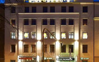 biurowiec nocą słowackiego 64 kraków