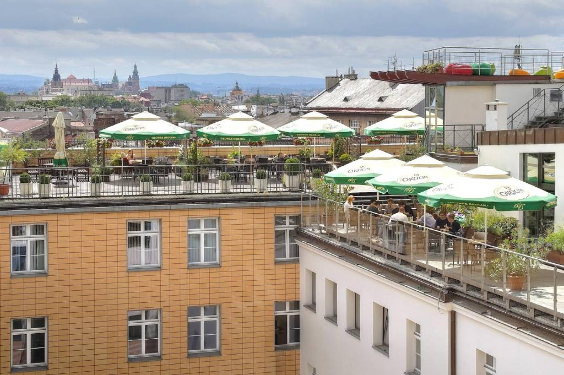 terrace aleja slowackiego 64 cracow