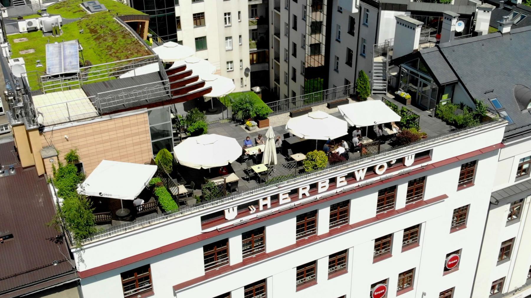 terrace aleja slowackiego cracow
