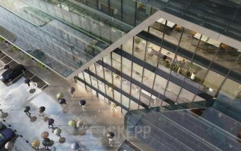view tischnera office from bird eye