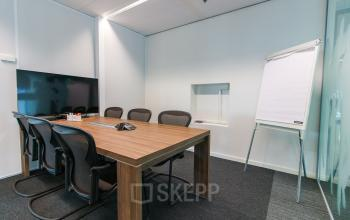 Multiple conference rooms in Leiden
