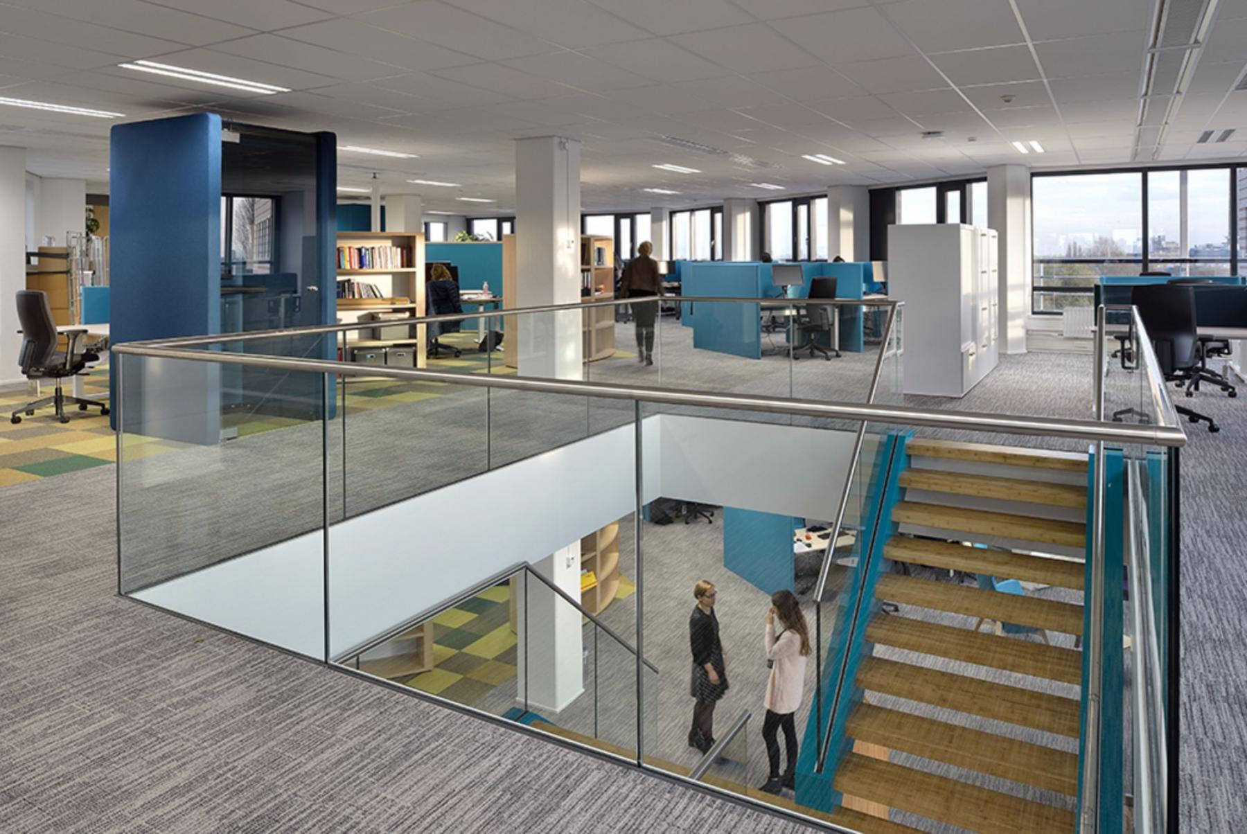 Shared office space in office building Leiden