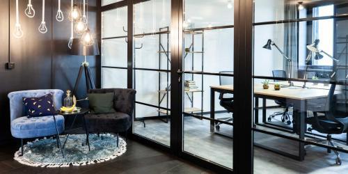 Beeindruckende Büros zur Miete in der Immobilie in Leipzig, Zentrum